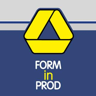 FORM IN PROD